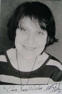 Kathy Burke autograph