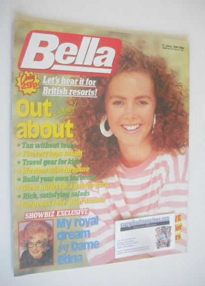 <!--1988-06-11-->Bella magazine - 11 June 1988