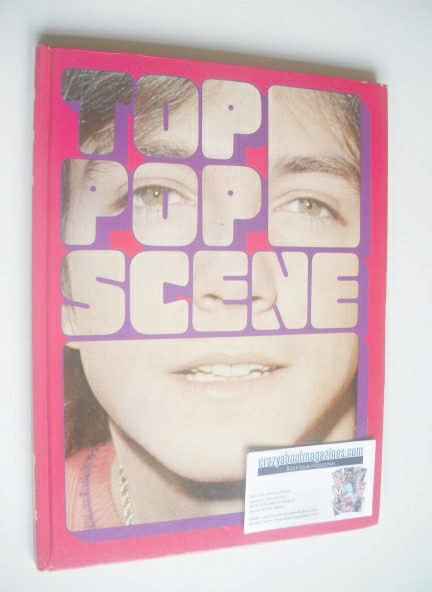 Top Pop Scene hardback book - David Cassidy cover (1974)