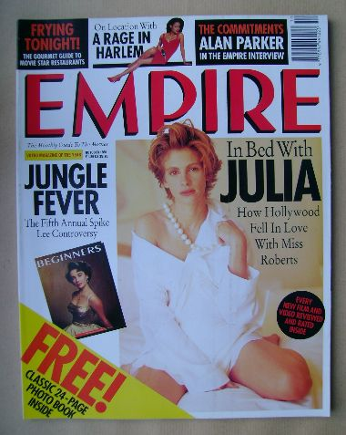 <!--1991-10-->Empire magazine - Julia Roberts cover (October 1991 - Issue 2