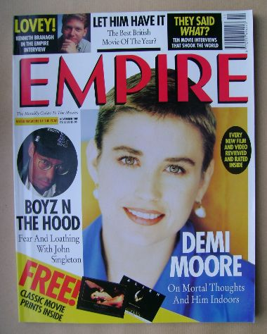 <!--1991-11-->Empire magazine - Demi Moore cover (November 1991 - Issue 29)