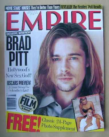 <!--1994-04-->Empire magazine - Brad Pitt cover (April 1994 - Issue 58)