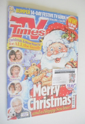 <!--2014-12-20-->TV Times magazine - Christmas Issue (20 December 2014 - 2