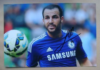 Cesc Fabregas autograph