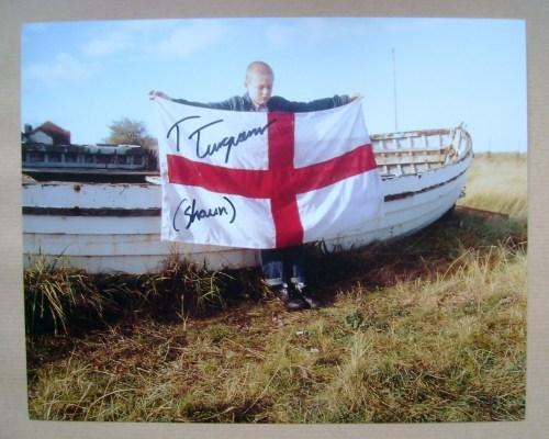 Thomas Turgoose autograph