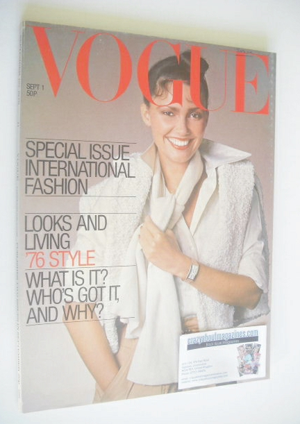 <!--1976-09-01-->British Vogue magazine - 1 September 1976 (Vintage Issue)