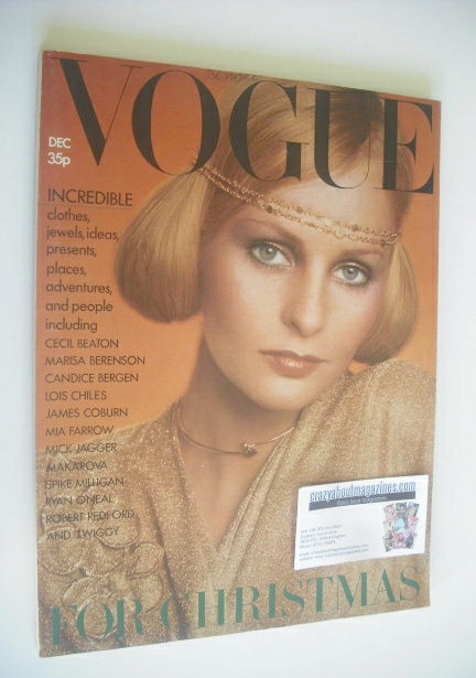 <!--1973-12-->British Vogue magazine - December 1973