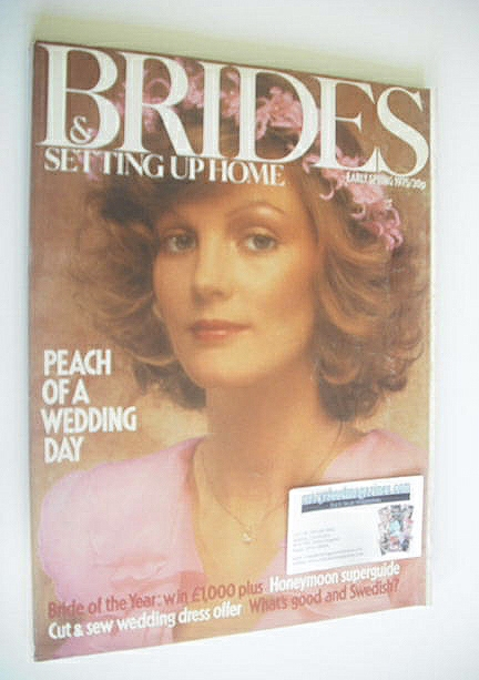 <!--1975-04-->Brides & Setting Up Home magazine - Early Spring 1975