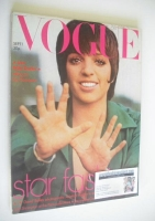 <!--1973-09-01-->British Vogue magazine - 1 September 1973 - Liza Minnelli cover