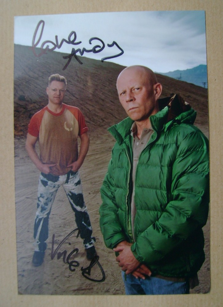 Erasure autographs