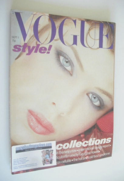 <!--1978-09-01-->British Vogue magazine - 1 September 1978