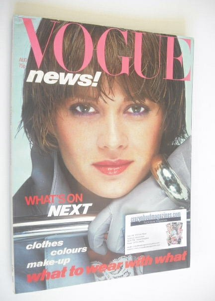<!--1978-08-->British Vogue magazine - August 1978 (Vintage Issue)