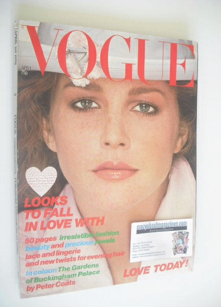 <!--1978-04-01-->British Vogue magazine - 1 April 1978 (Vintage Issue)