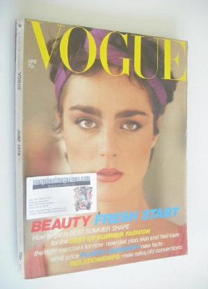<!--1979-06-->British Vogue magazine - June 1979 (Vintage Issue)