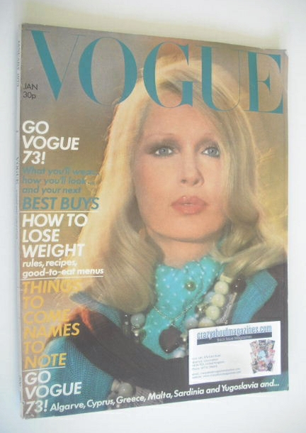 <!--1973-01-->British Vogue magazine - January 1973