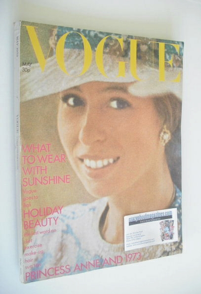 <!--1973-05-->British Vogue magazine - May 1973