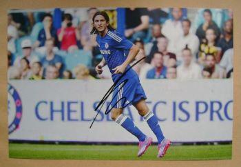 Filipe Luis autograph