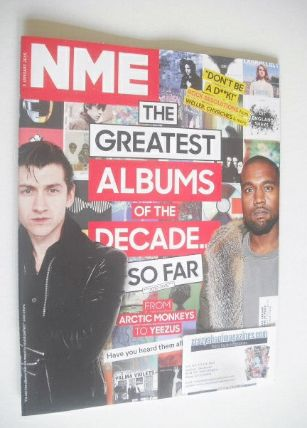 <!--2015-01-03-->NME magazine - The Greatest Album Of The Decade So Far cov