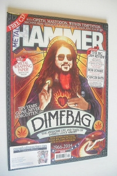 Metal Hammer magazine - Dimebag Darrell cover (January 2015)