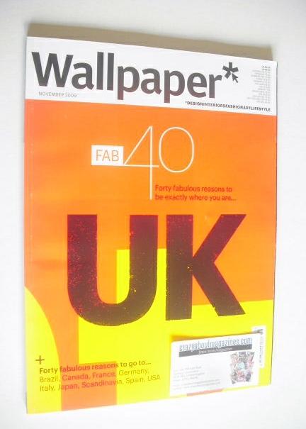 <!--2009-11-->Wallpaper magazine (Issue 128 - November 2009)