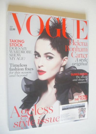 <!--2013-07-->British Vogue magazine - July 2013 - Helena Bonham Carter cov