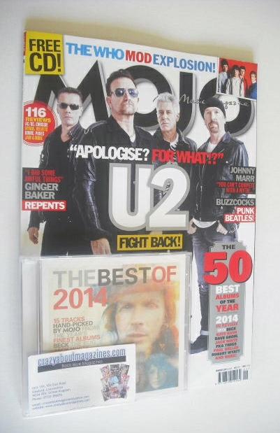 <!--2015-01-->MOJO magazine - U2 cover (January 2015)