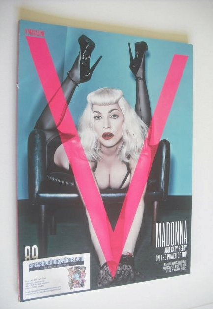 <!--2014-08-->V magazine - Summer 2014 - Madonna cover