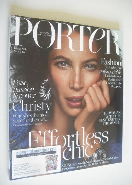 <!--2014-12-->Porter magazine - Christy Turlington cover (Winter 2014)