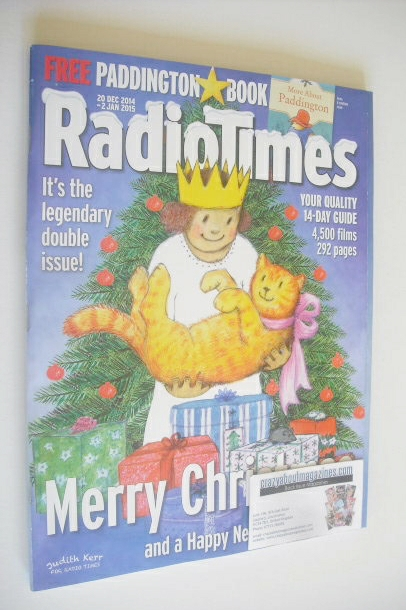 <!--2014-12-20-->Radio Times magazine - Christmas Issue (20 December 2014 -