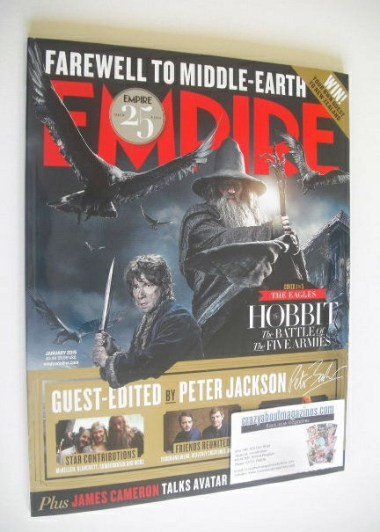 <!--2015-01-->Empire magazine - Farewell To Middle Earth cover (January 201