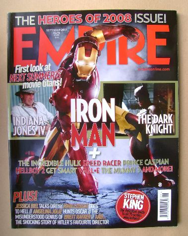 <!--2007-09-->Empire magazine - September 2007 (Issue 219)
