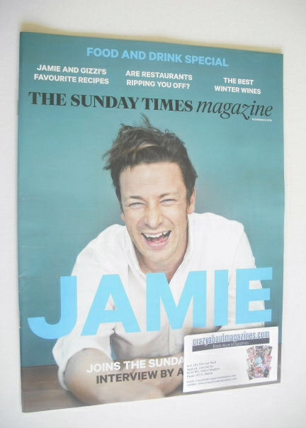 <!--2014-11-02-->The Sunday Times magazine - Jamie Oliver cover (2 November
