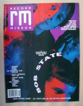 Record Mirror magazine - 808 State cover (2 December 1989)