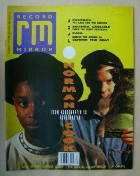 Record Mirror magazine - 28 October 1989
