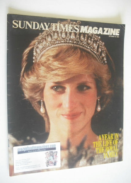 <!--1983-09-18-->The Sunday Times magazine - Princess Diana cover (18 Septe