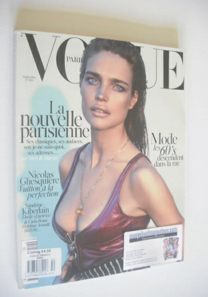 <!--2014-09-->French Paris Vogue magazine - September 2014 - Natalia Vodian