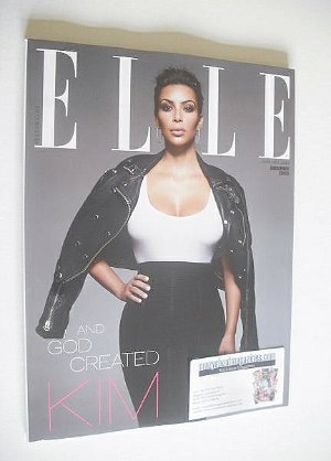 <!--2015-01-->British Elle magazine - January 2015 - Kim Kardashian cover (