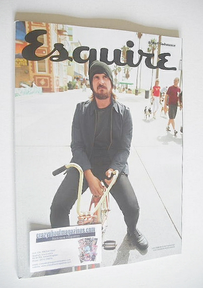 <!--2015-01-->Esquire magazine - Christian Bale cover (January 2015 - Subsc