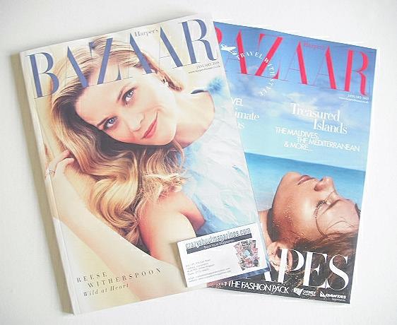 <!--2015-01-->Harper's Bazaar magazine - January 2015 - Reese Witherspoon c