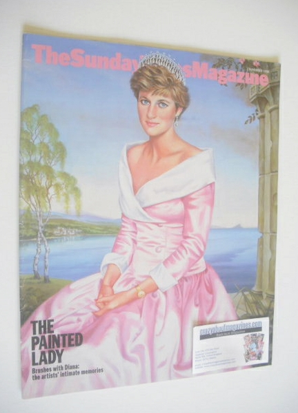 <!--1998-11-01-->The Sunday Times magazine - Princess Diana cover (1 Novemb