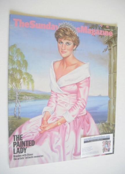 <!--1998-11-01-->The Sunday Times magazine - Princess Diana cover (1 Novemb