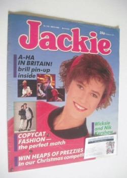 Jackie magazine - 6 December 1986 (Issue 1196)