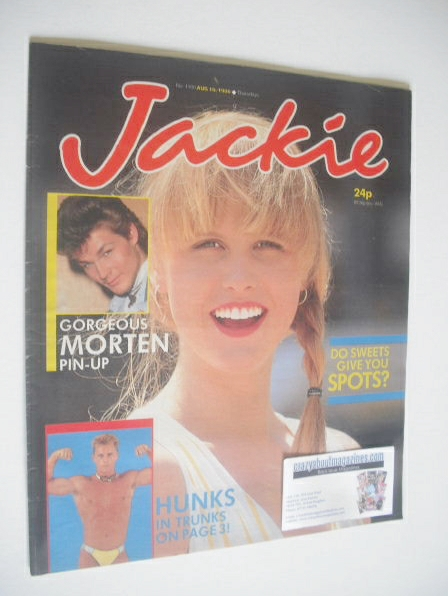 <!--1986-08-16-->Jackie magazine - 16 August 1986 (Issue 1180)
