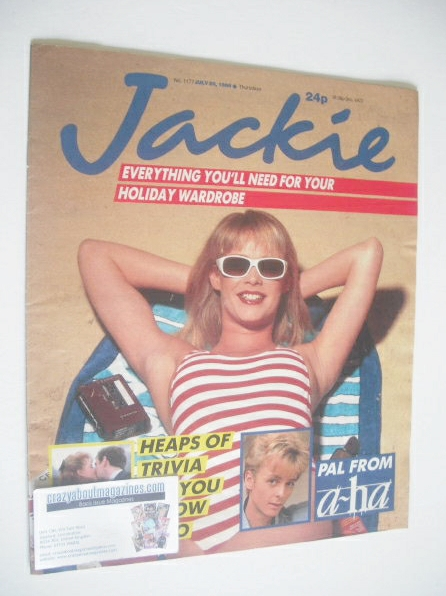 <!--1986-07-26-->Jackie magazine - 26 July 1986 (Issue 1177)