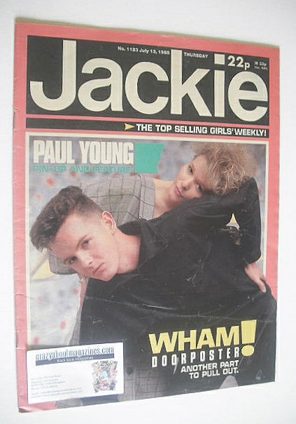 <!--1985-07-13-->Jackie magazine - 13 July 1985 (Issue 1123)
