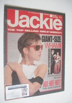 Jackie magazine - 6 July 1985 (Issue 1122)