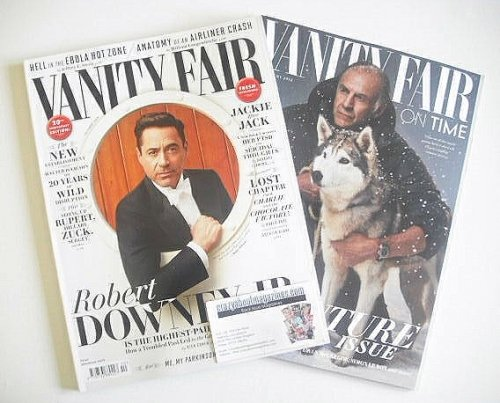 <!--2014-10-->Vanity Fair magazine - Robert Downey Jr cover (October 2014)