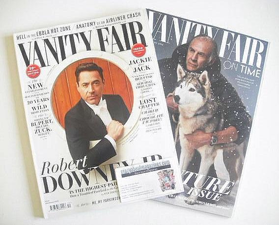 <!--2014-10-->Vanity Fair magazine - Robert Downey Jr cover (October 2014)