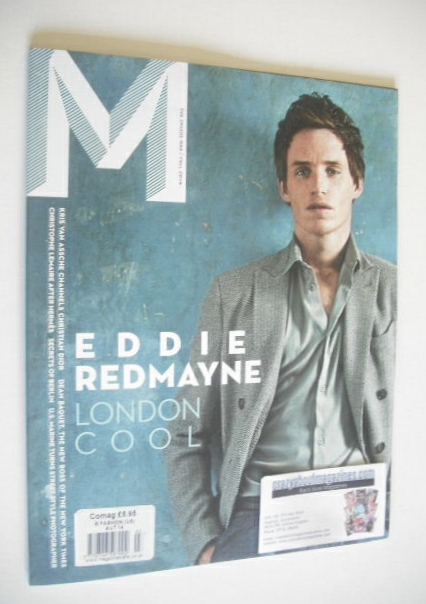 M magazine - Eddie Redmayne cover (Autumn 2014)