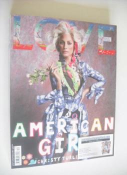 Love magazine - Issue 12 - Autumn/Winter 2014 - Christy Turlington cover